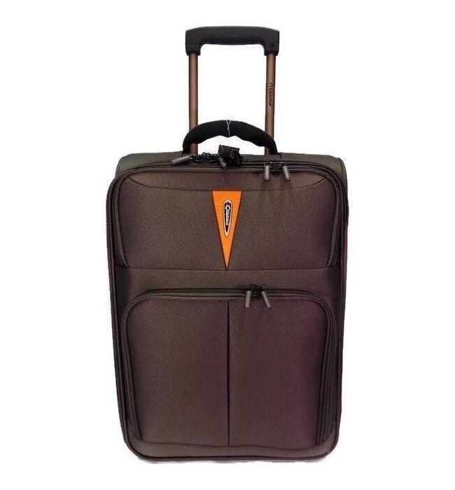 Βαλίτσα τρόλεϊ 71εκ. Diplomat ZC 6100 Καφέ