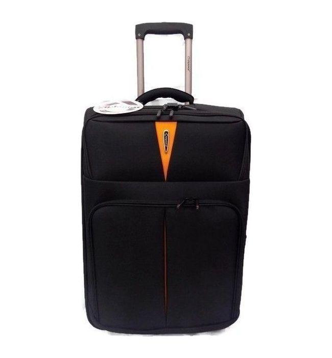 Βαλίτσα τρόλεϊ 71εκ. Diplomat ZC 6100 Μαύρο